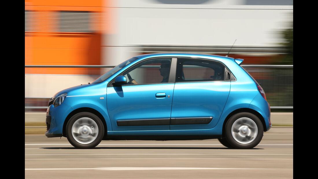 Renault Twingo SCe70, Seitenansicht