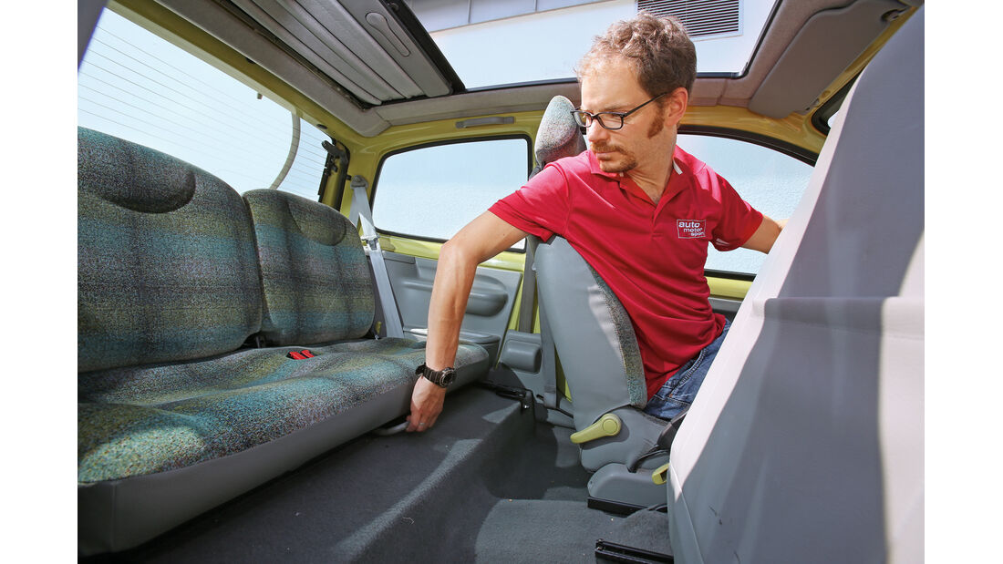 Renault Twingo, Sitze, Innenraum