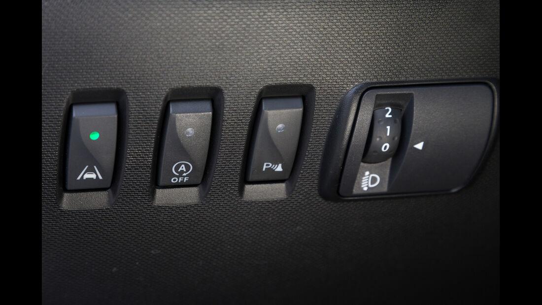 Renault Twingo TCe 90, Bedienelemente