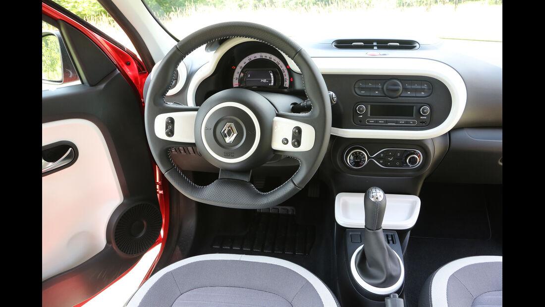 Renault Twingo TCe 90, Cockpit