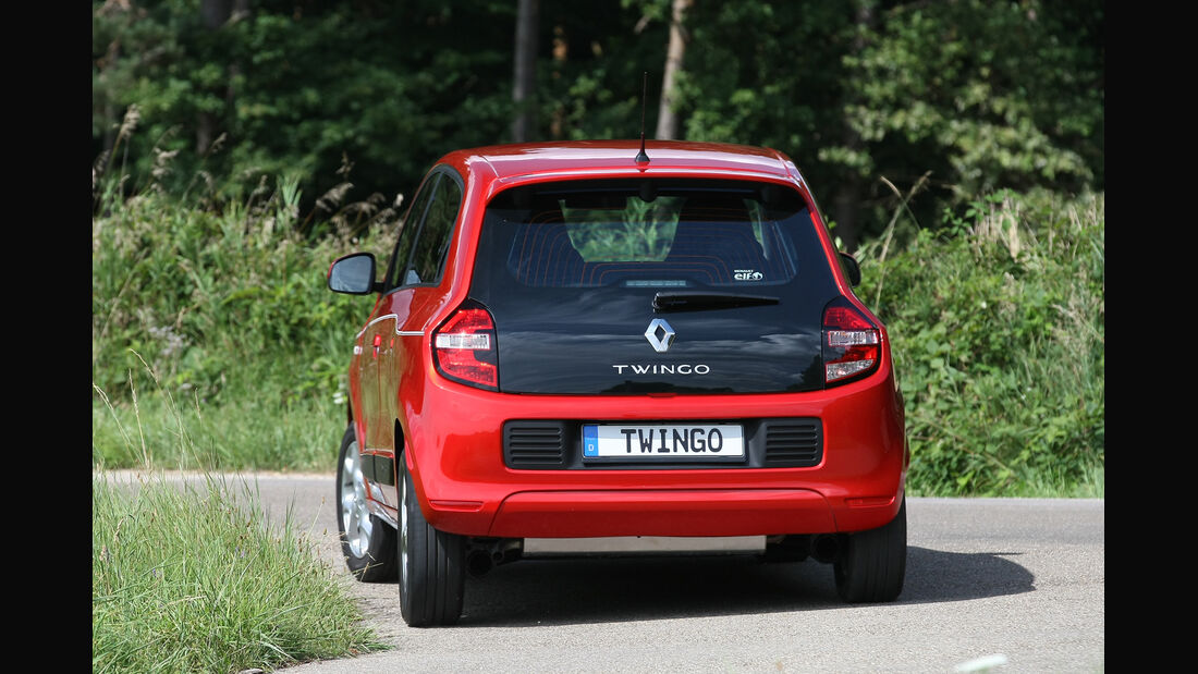 Renault Twingo TCe 90, Heckansicht