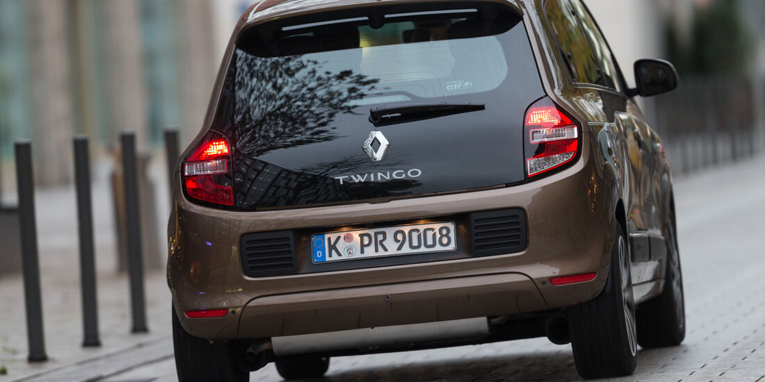 Renault Twingo TCe 90, Heckansicht