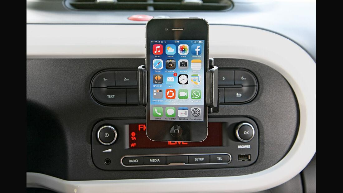 Renault Twingo TCe 90, Infotainment, Smartphone