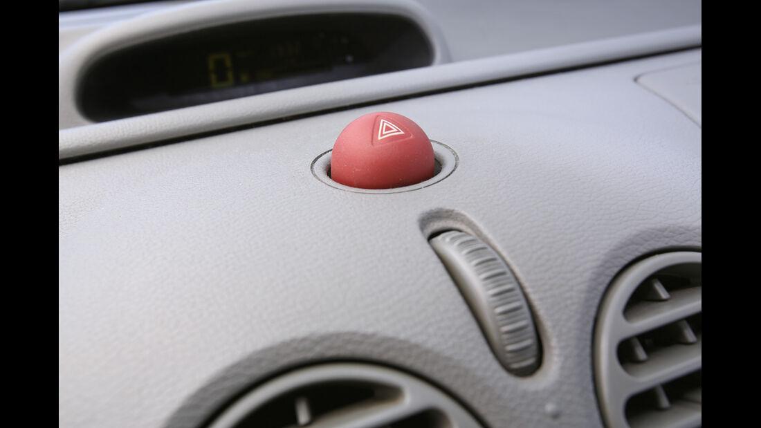 Renault Twingo, Warnblinker