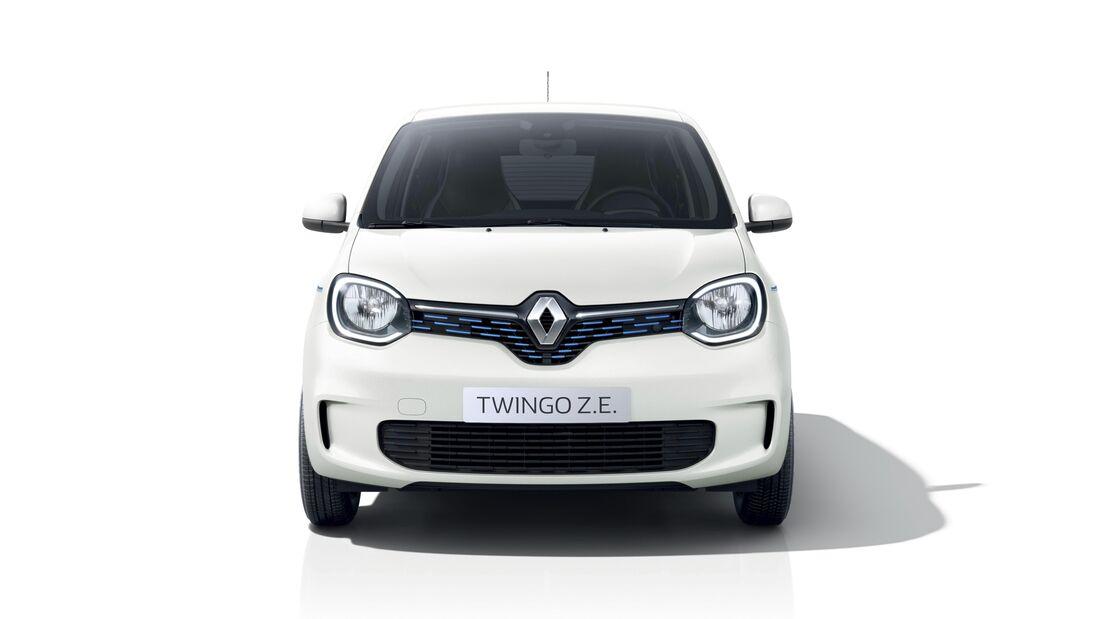 Renault Twingo Z.E. Elektroauto Genf 2020