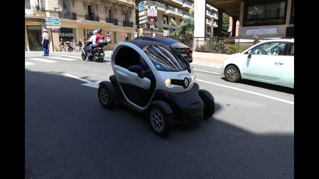 Renault Twizy - Carspotting - GP Monaco 2018