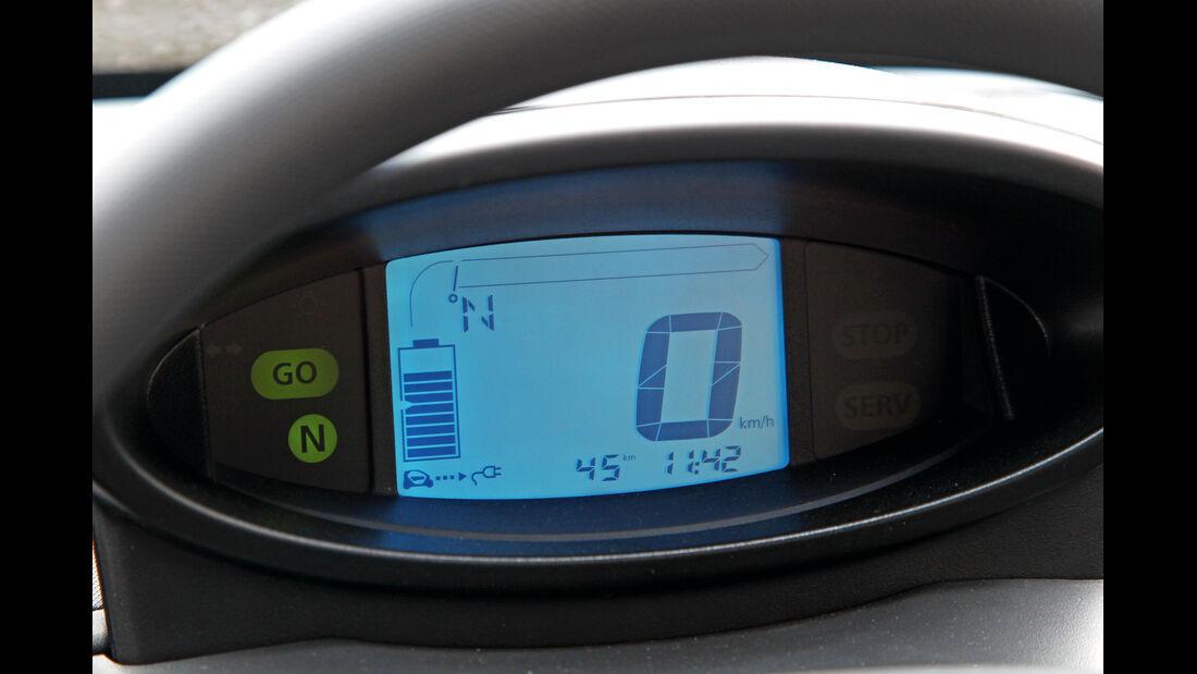 Renault Twizy, Display, Anzeige