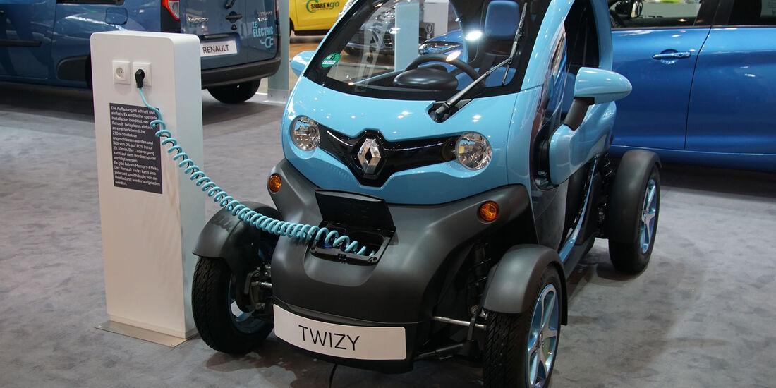 Renault Twizy - Electric Vehicle Symposium 2017 - Stuttgart - Messe - EVS30