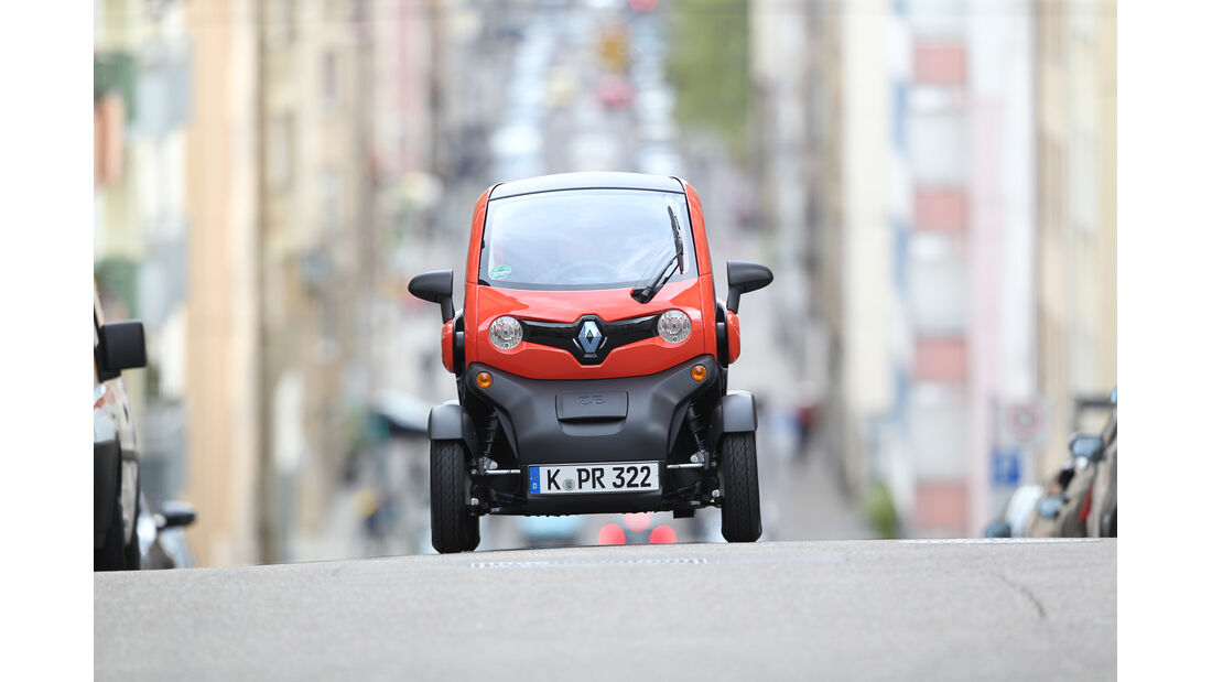 Renault Twizy, Frontansicht