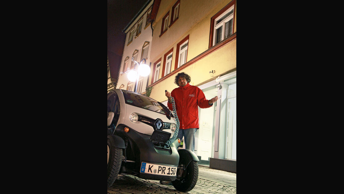 Renault Twizy, Frontansicht, Edwin Meister