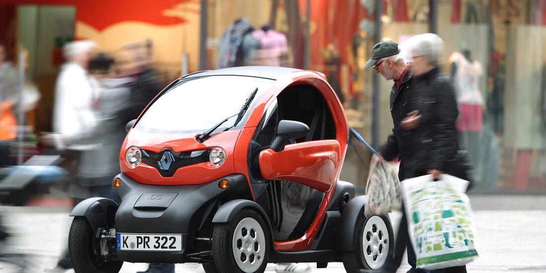 Renault Twizy, Fußgängerzone