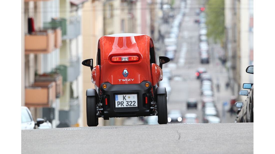 Renault Twizy, Heck