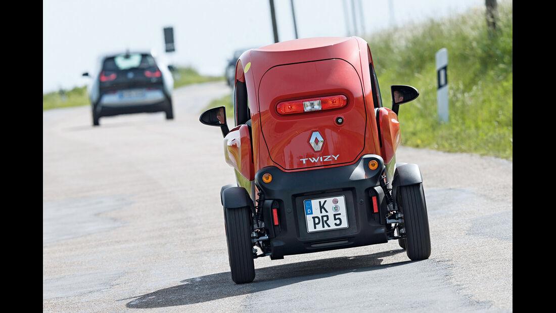 Renault Twizy, Heckansicht