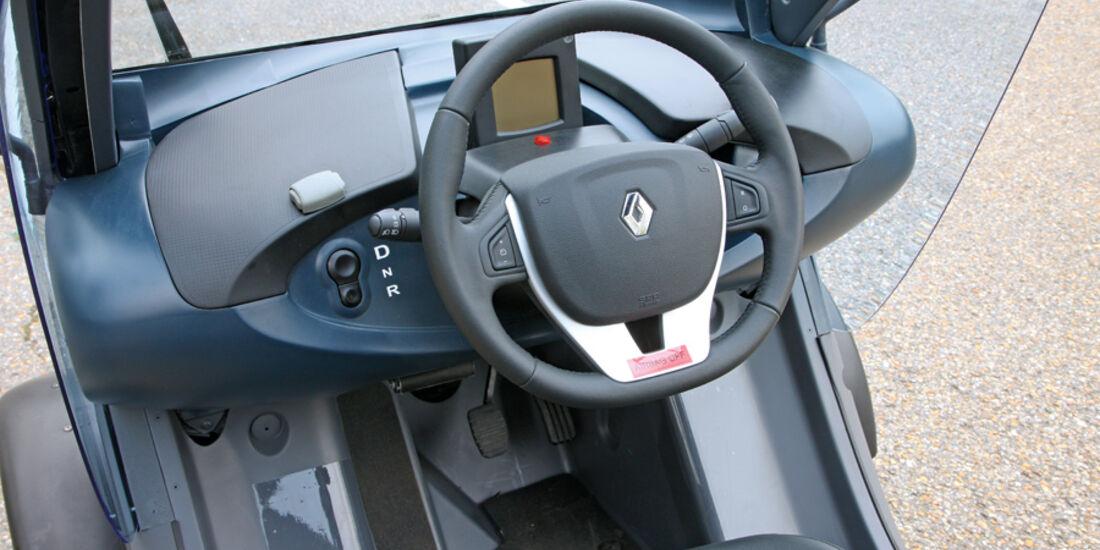 Renault Twizy, Lenkrad