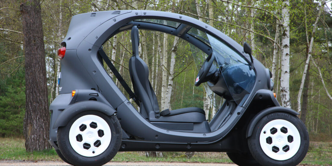 Renault Twizy, Seitenansicht