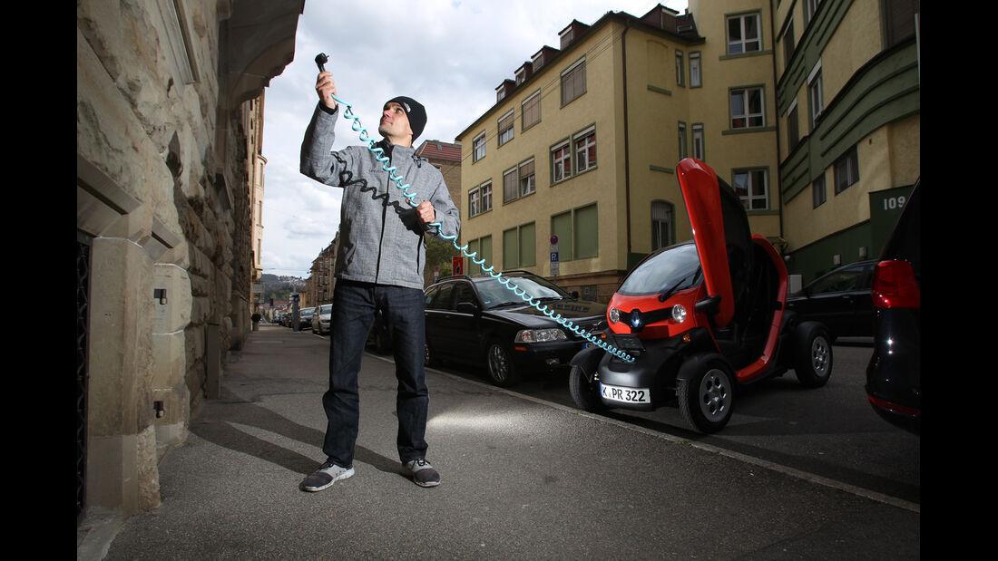 Renault Twizy, Stromzufuht, Jörn Thomas