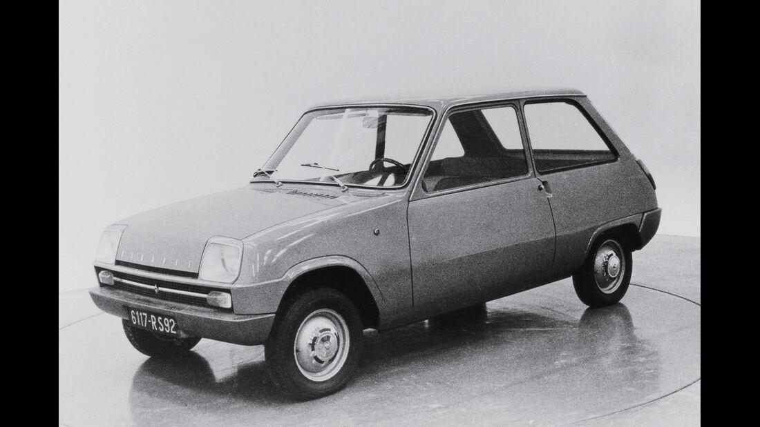 Renault Typ 122, Frontansicht