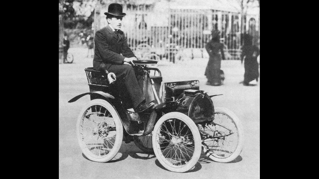 Renault Typ A Voiturette 1899, Louis Renault