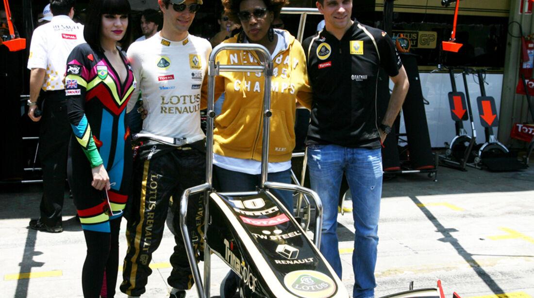Renault VIPs - GP Brasilien - 25. November 2011