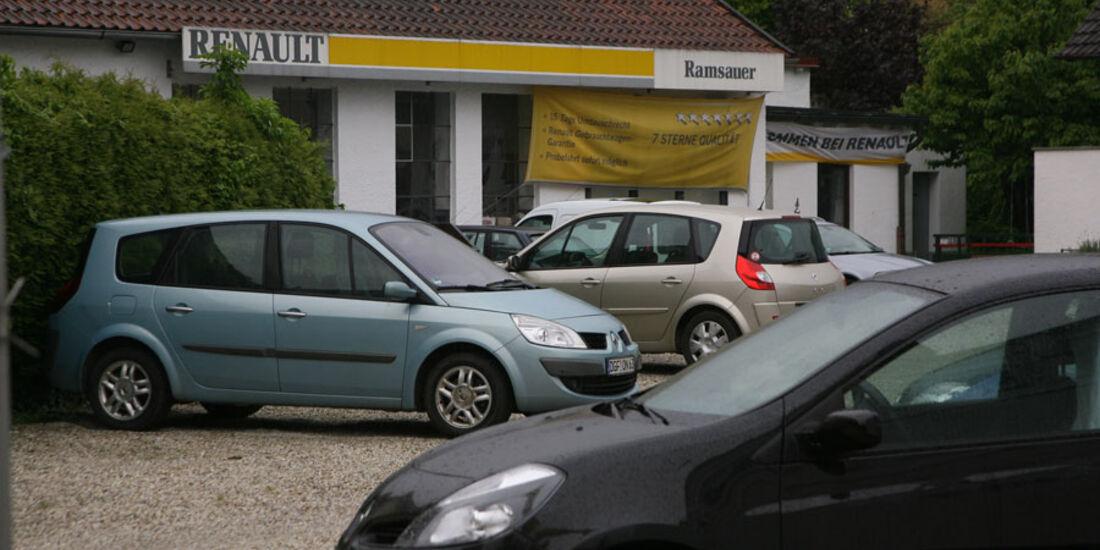 Renault-Werkstatt, Autohaus Ramsauer