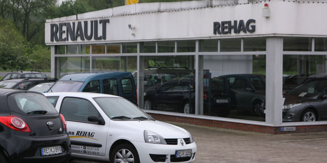 Renault-Werkstatt, Autohaus Rehag