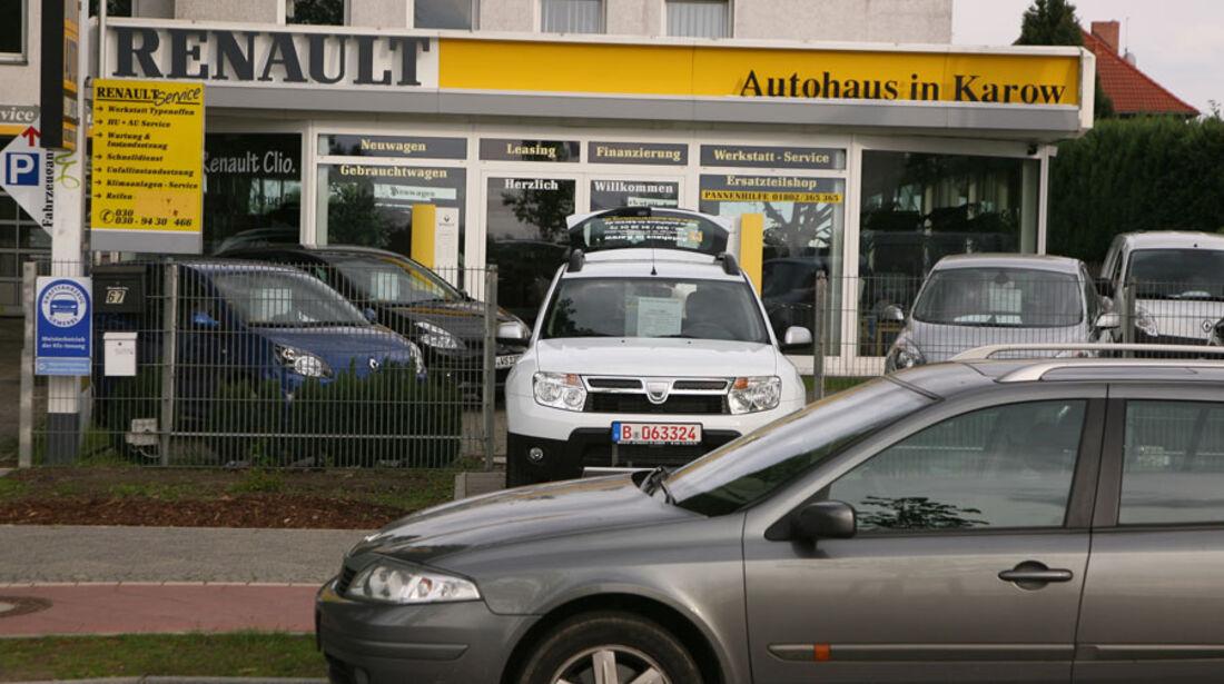 Renault-Werkstatt, Autohaus in Karow