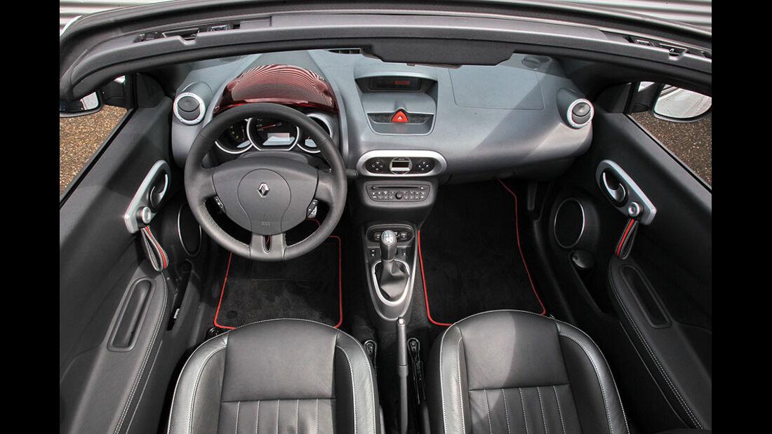 Renault Wind 1.6 16V, Cockpit