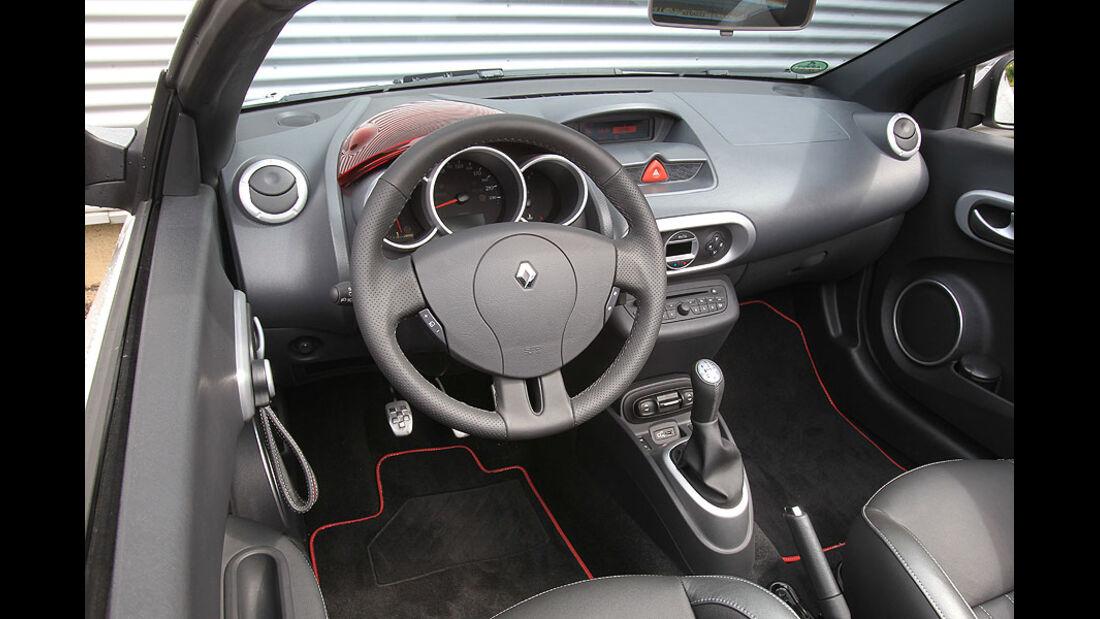 Renault Wind 1.6 16V, Lenkrad