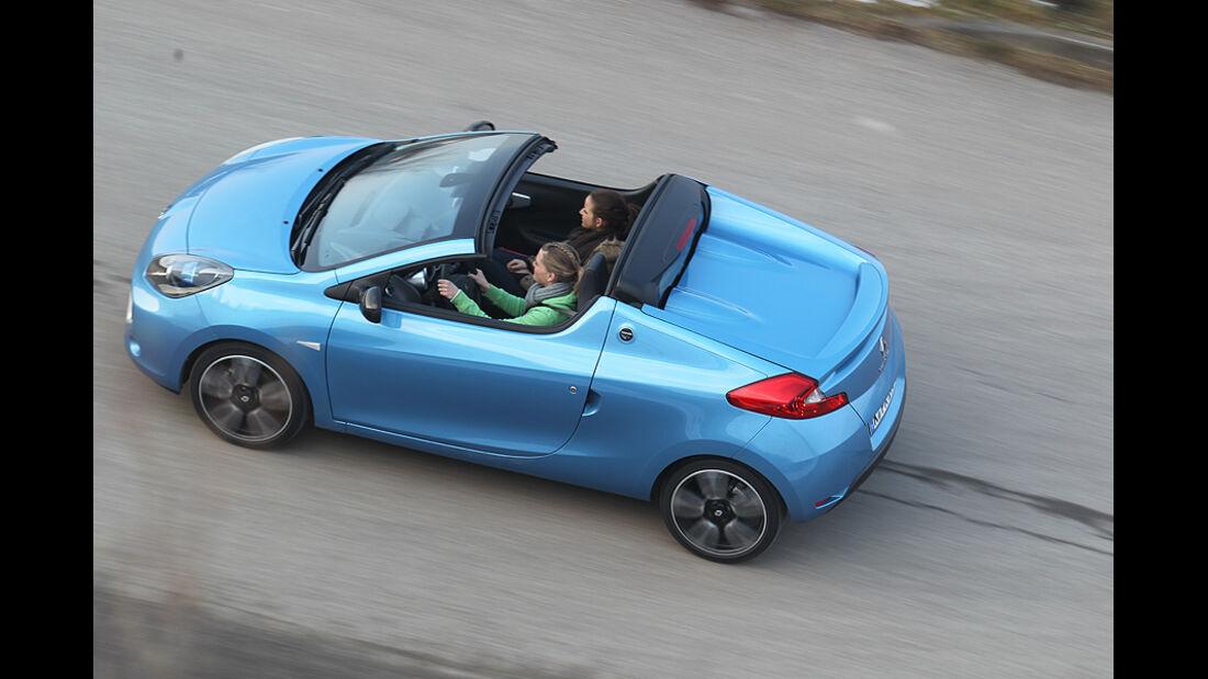 Renault Wind, Cabrio, Seite, oben