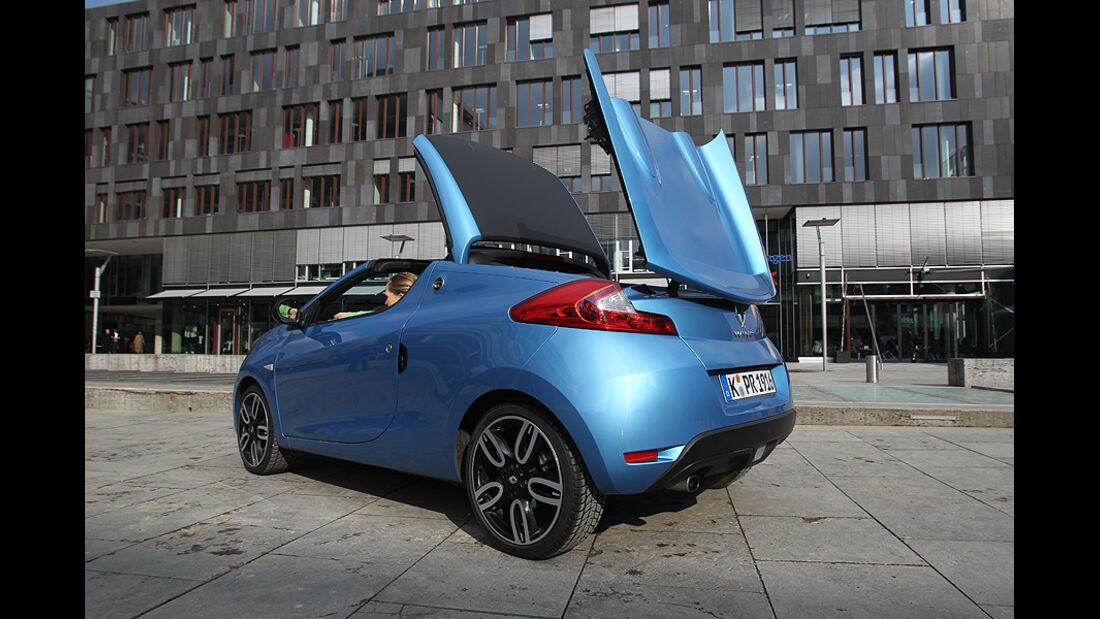 Renault Wind, Cabrio, klappbares Hardtop