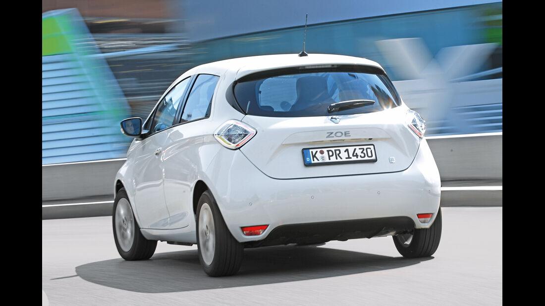 Renault Zoé, Heckansicht