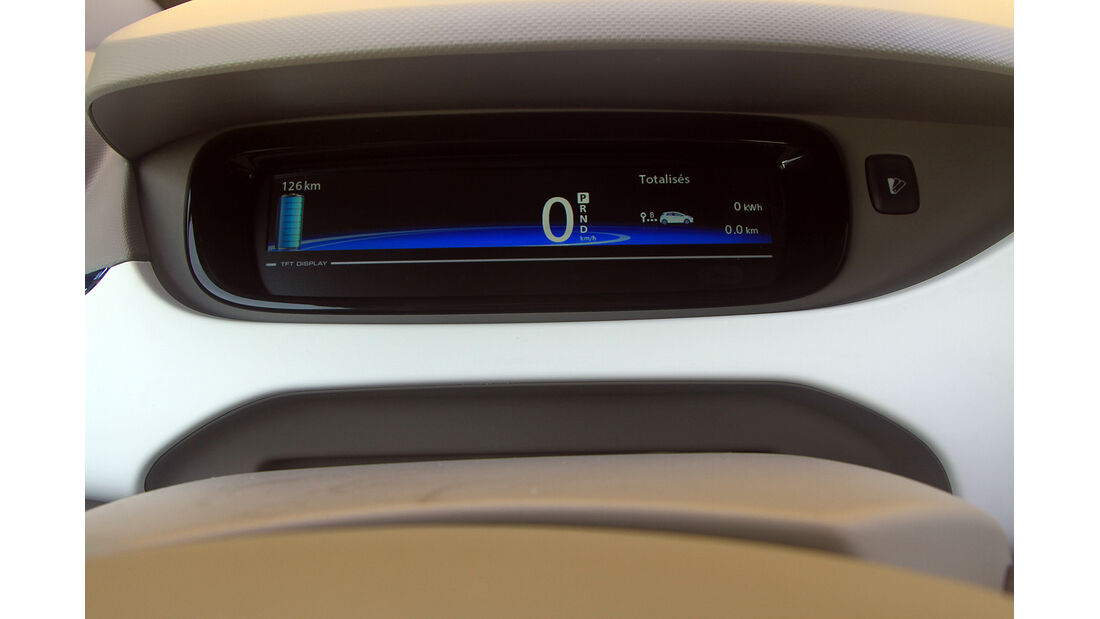 Renault Zoe, Digital-Instrument