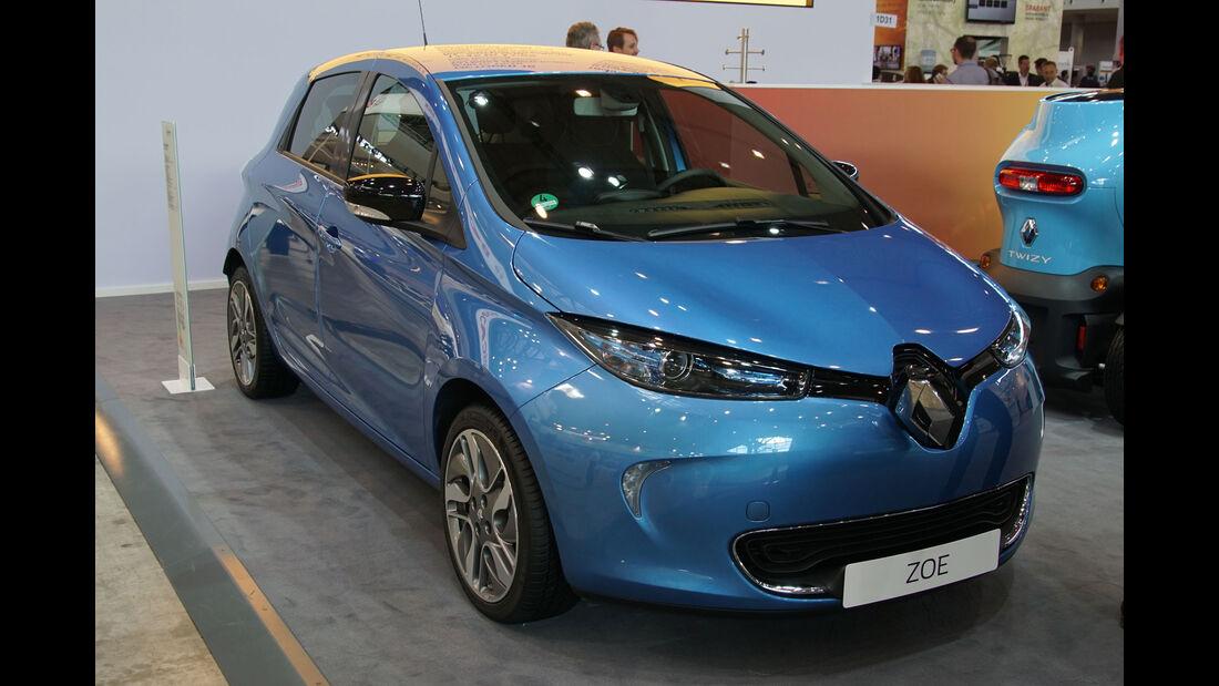 Renault Zoe - Electric Vehicle Symposium 2017 - Stuttgart - Messe - EVS30