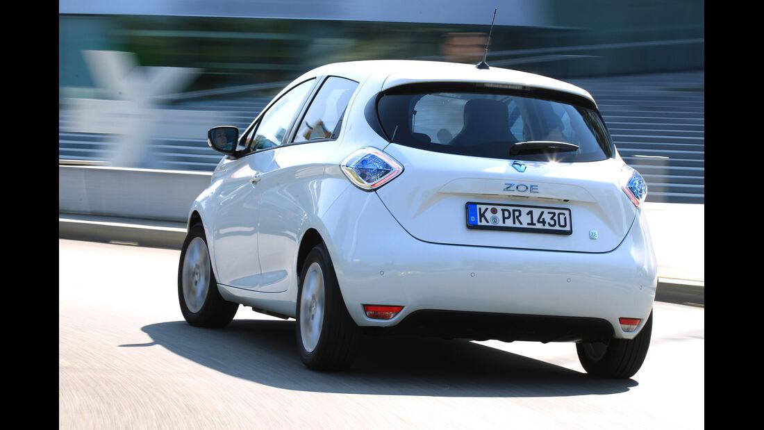 Renault Zoe, Heckansicht