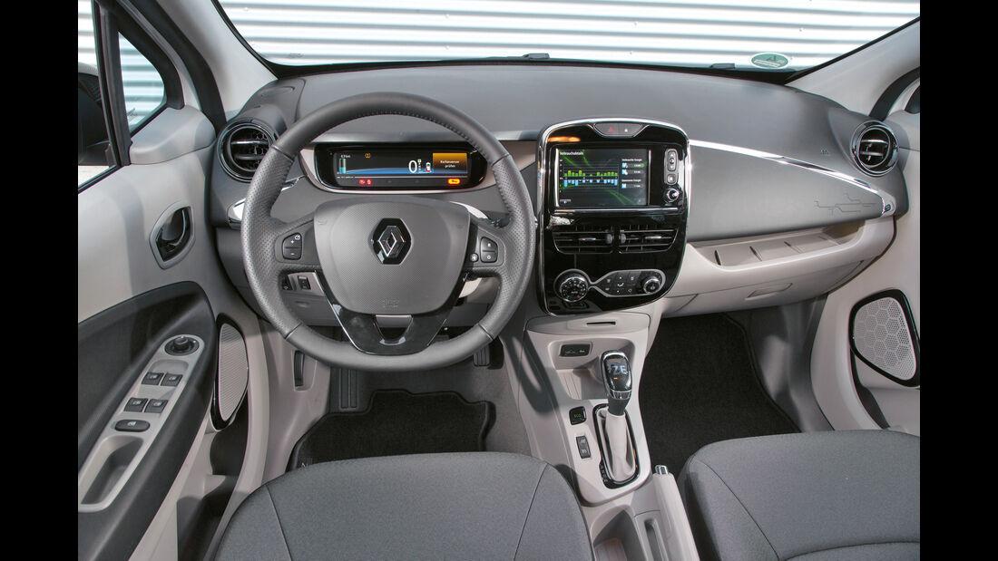 Renault Zoe Intens, Cockpit