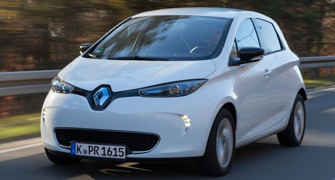 Renault Zoe Intens, Frontansicht