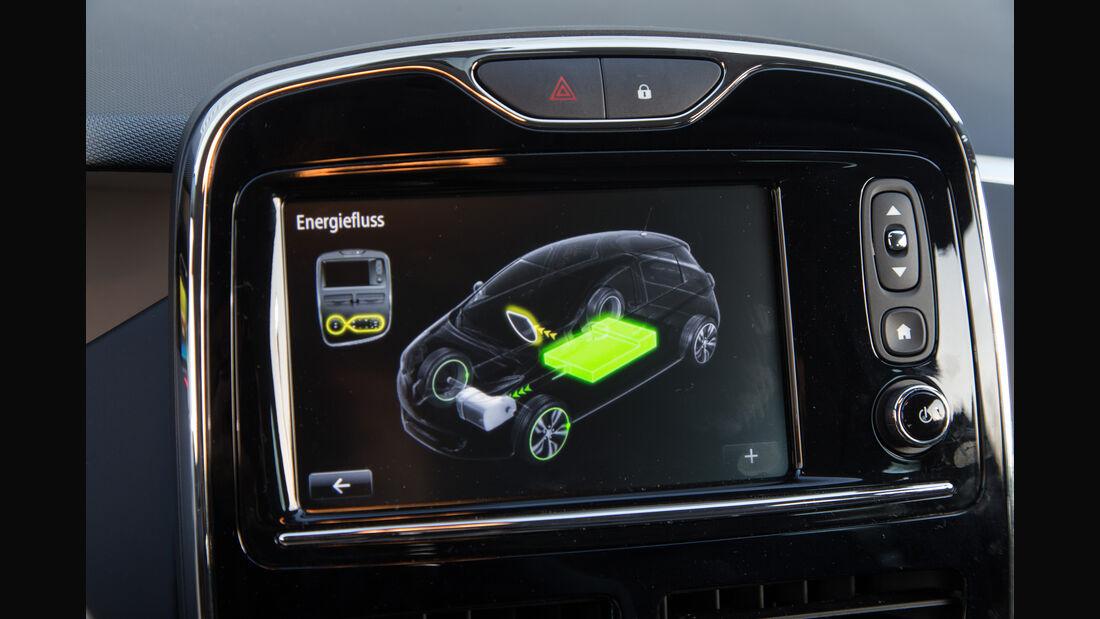 Renault Zoe Intens, Infotainment