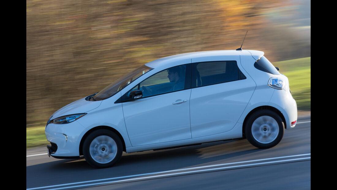 Renault Zoe Intens, Seitenansicht