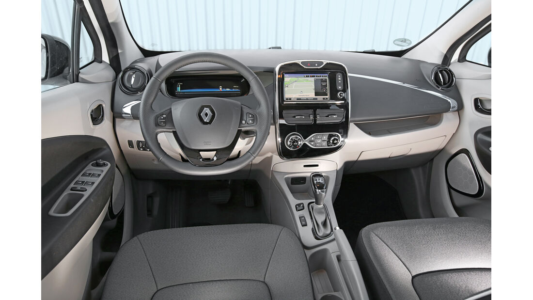 Renault Zoe Intense, Cockpit