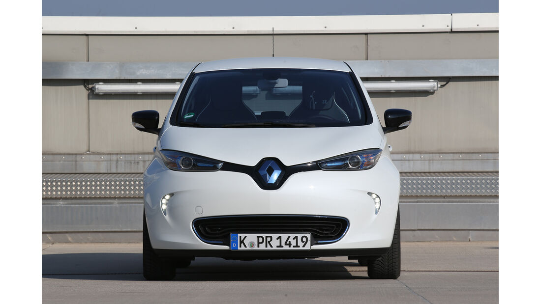 Renault Zoe Intense, Frontansicht
