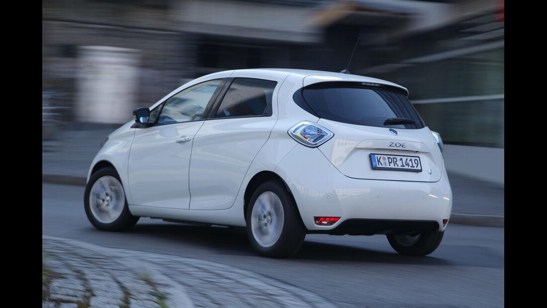 Renault Zoe Intense, Heckansicht