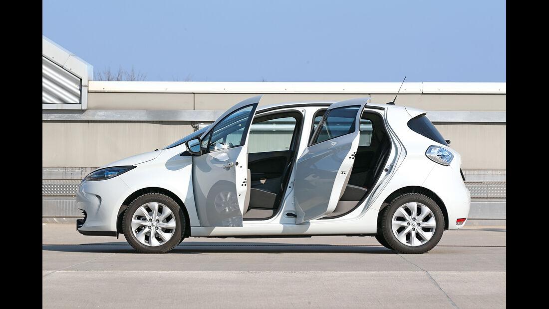 Renault Zoe Intense, Seitenansicht