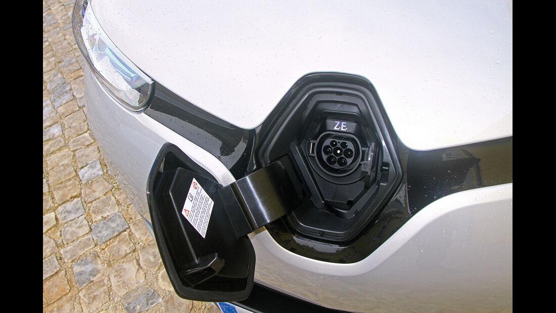 Renault Zoe, Stromanschluss