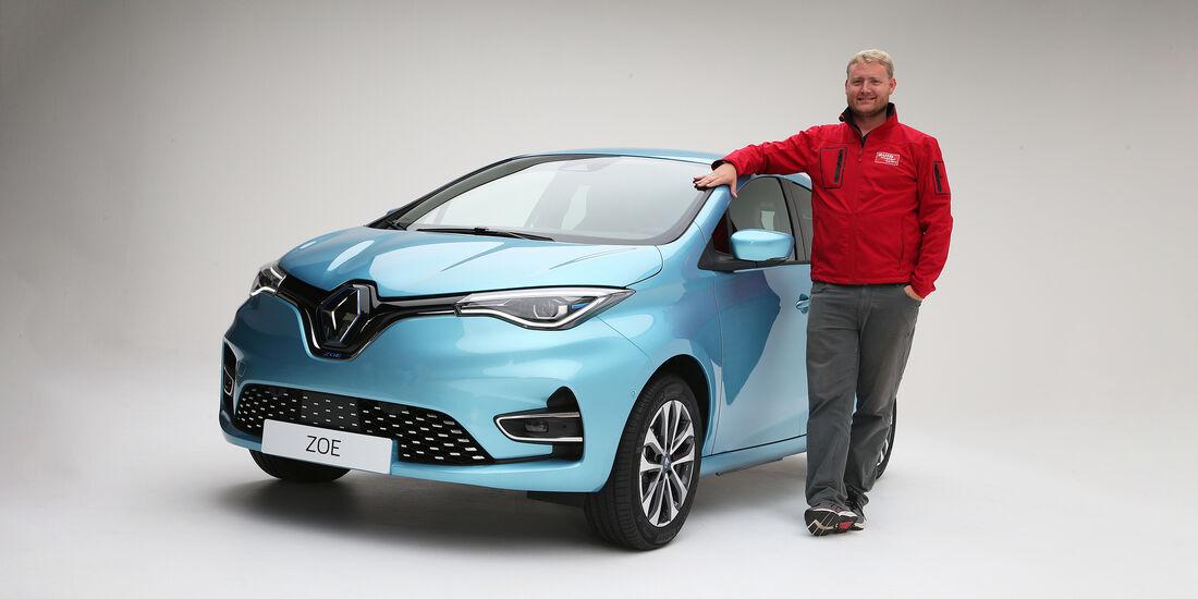 Renault Zoe 2020 Erster Check Des Neuen E Erfolgsautos Auto Motor