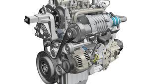 Renault Zweizylinder Zweitakt-Turbodiesel