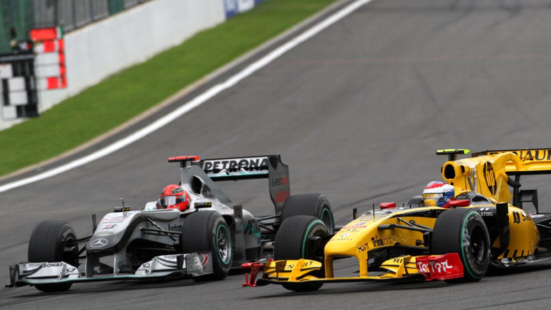 Renault vs. Mercedes