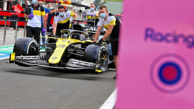 Renault vs. Racing Point - GP Ungarn 2020