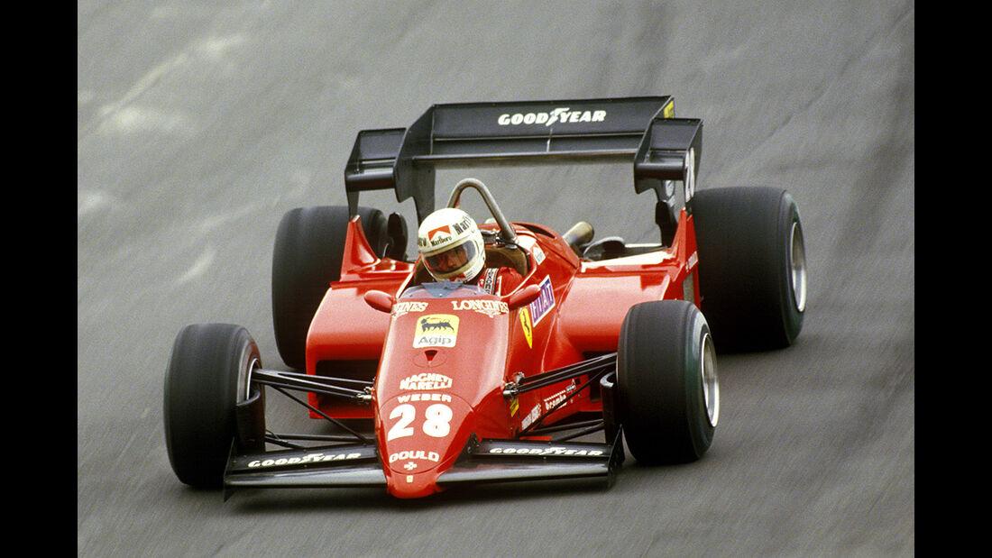 Rene Arnoux Ferrari 126 C4