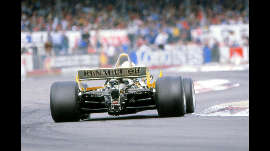Rene Arnoux - GP England 1981