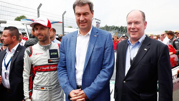 Rene Rast - Audi - Markus Söder - DTM - Norisring 2019